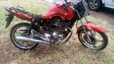 Foto de Polícia Militar localiza motocicleta furtada em São joão do Caiuá
