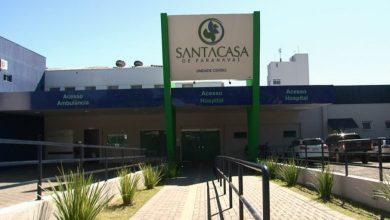Foto de Santa Casa de Paranavaí não registrou óbitos de pacientes de Covid-19 nas últimas 24h