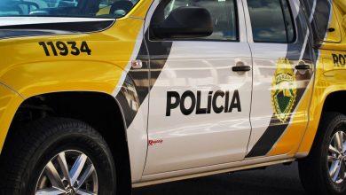 Foto de PM prende homem por embriaguez ao volante em Amaporã