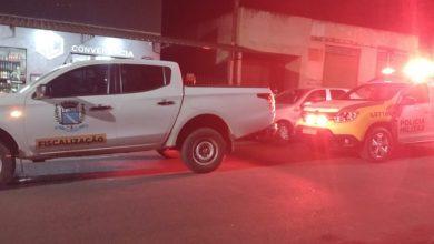 Foto de Polícia Militar presta apoio à Vigilância Sanitária em Marilena