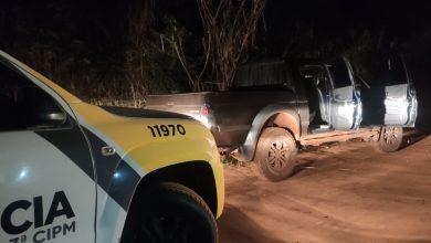 Foto de Polícia Militar recupera veículo roubado em Santa Cruz de Monte Castelo