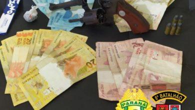 Foto de Adolescente de 16 anos é apreendido com arma, drogas e dinheiro em Nova Esperança