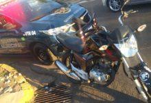 Foto de Após fugir de abordagem da GM, homem cai com motocicleta e moto é apreendida