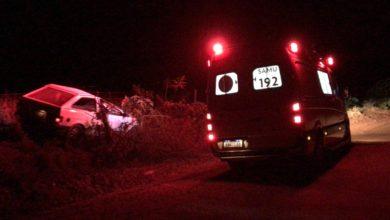 Foto de Após capotamento, jovem é ejetado para fora de veículo em Marilena