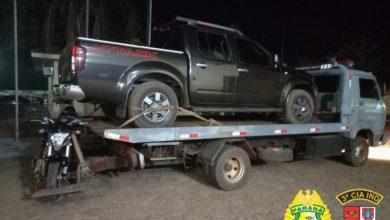 Foto de Polícia Militar recupera veículos roubados e liberta vítima de sequestro em Santa Cruz do Monte Castelo