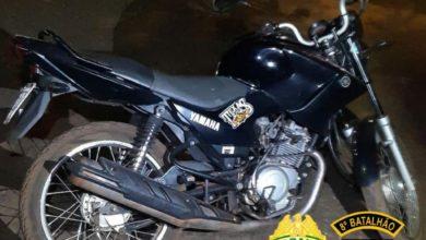 Foto de Polícia Militar prende autor de roubo e recupera uma motocicleta furtada em Nova Esperança