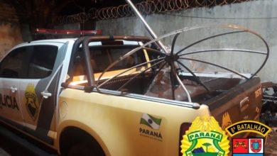 Foto de Homem é preso após furtar residência e escola no Centro de Amaporã