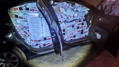 Foto de Polícia Militar encontra veículo abandonado com carga ilícita em Tamboara