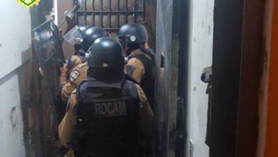 """Foto de Polícia Militar é acionada para conter """"motim"""" de presos no DEPEN de Cianorte"""