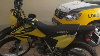 Foto de Polícia Militar recupera motocicleta furtada em Loanda