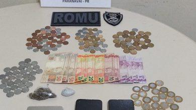Foto de Homem é preso pela Guarda Municipal por tráfico de drogas em Paranavaí