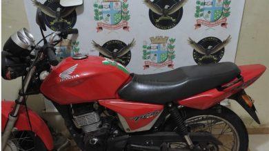Foto de Homem é preso pela ROMU com moto adulterada em Paranavaí