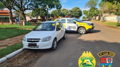 Foto de Polícia Militar recupera veículo furtado em Loanda